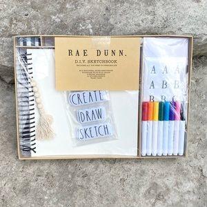 Rae Dunn DIY Sketchbook Set